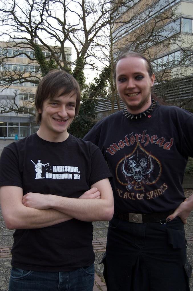 Frank (l.) & Markus (r.)